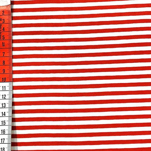 Streifen, rot-weiß