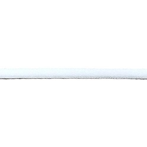 Rundgummi 5mm, weiß