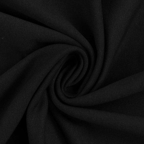 Sommersweat, schwarz