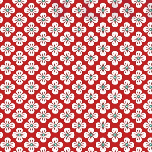 Blümchen, rot