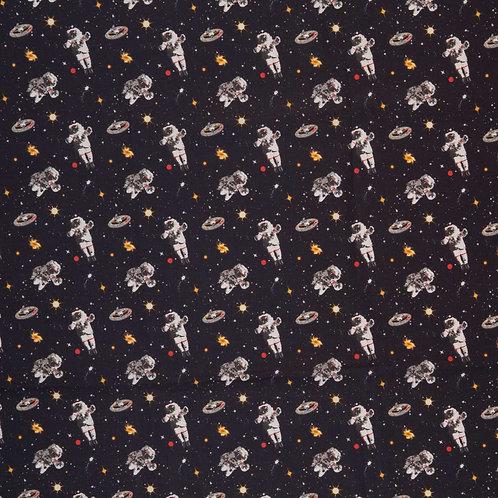 Astronauten, schwarz
