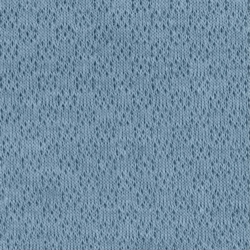 Jacquard-Jersey, jeansblau