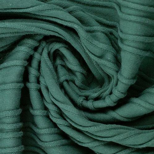 Strukturjersey Peru, smaragd