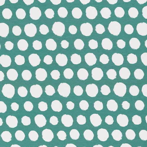 Sommersweat Dots, smaragd