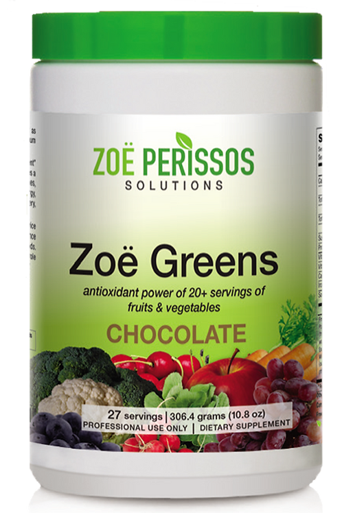 Zoe Greens Chocolate