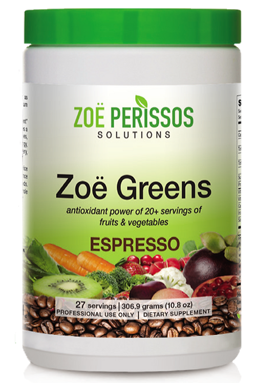 Zoe Greens Espresso