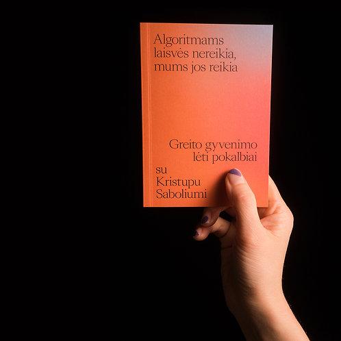 Pokalbis su Kristupu Sabolium Kišeninė knyga
