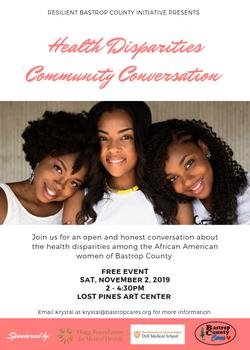 Health Disparities Community Conversatio