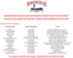 SMITHVILLE RESTAURANT INFORMATION COVID