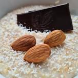 Rychlá Ovesná kaše s Čokoládou a Kokosem