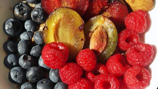 Ovesná kaše s ovocem od Elis