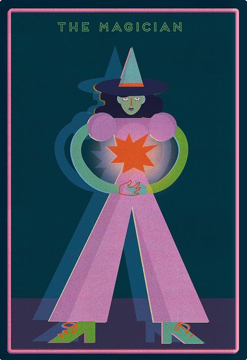 The Magician print