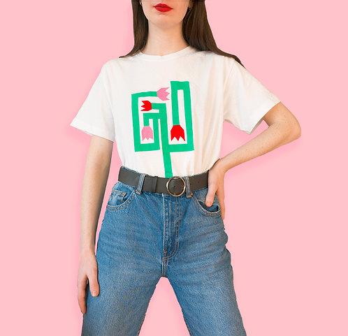Flower Labyrinth T-shirt