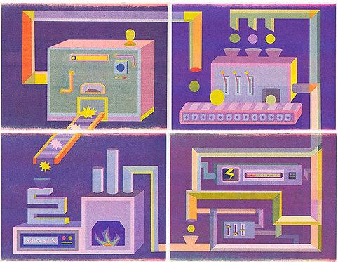 Magische machine risoprint set