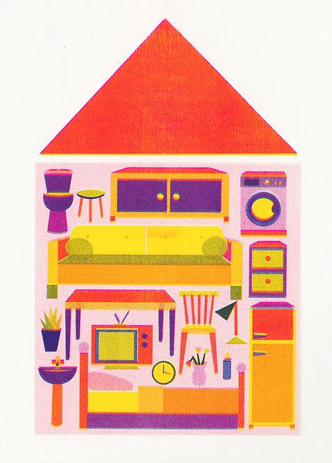 Tiny house risoprint