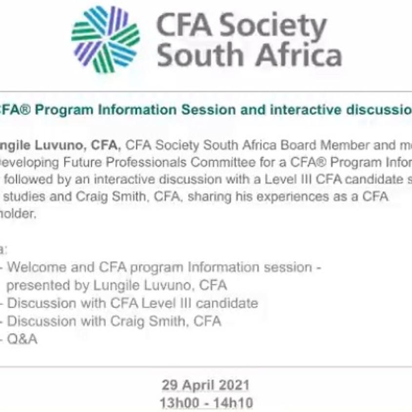 CFA Information Session