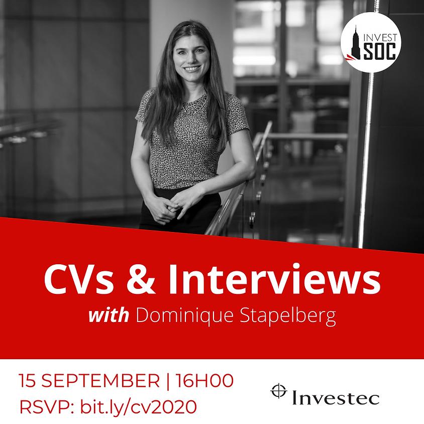 CVs & Interviews