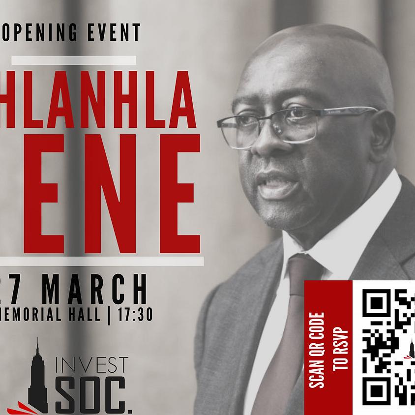 Opening Event: Nhlanhla Nene