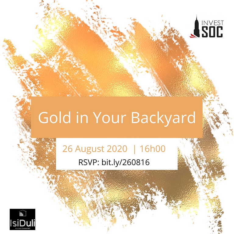 Gold in Your Backyard