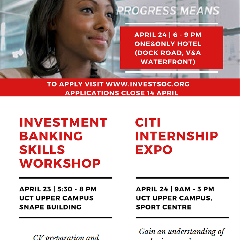 Investment Banking Skills Workshop