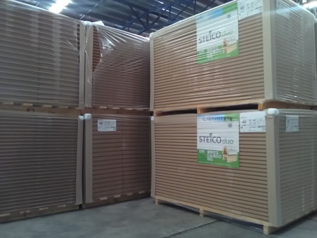 Rigid Woodfibre insulation board & pallet dimensions