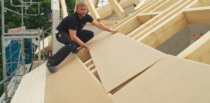 Above the Roof rafters Insulation Panel