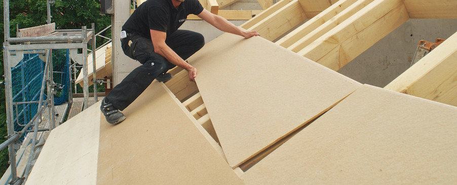 Dry board - Above the Roof rafters Insulation Panel