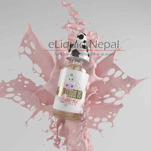 Strawberry Milk By Moo Eliquids