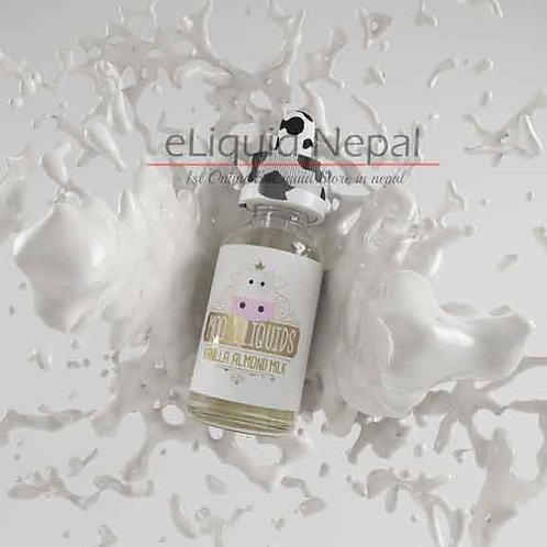 Vanilla Almond Milk By Moo Eliquids