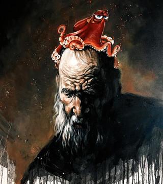 Hank on his Head