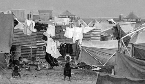 Beqaa Camp in Jordan, 1969