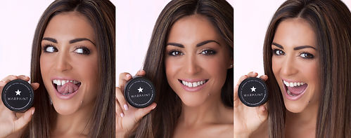 Warpaint Natural Teeth whitening charcoal toothpaste UK