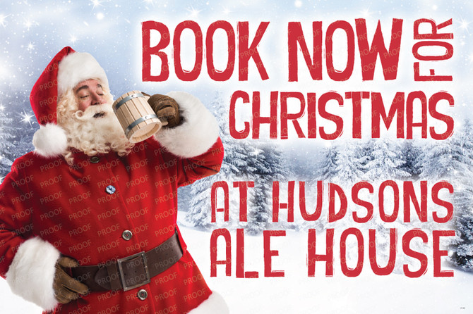 Festive Food & Parties At Hudson's Ale House