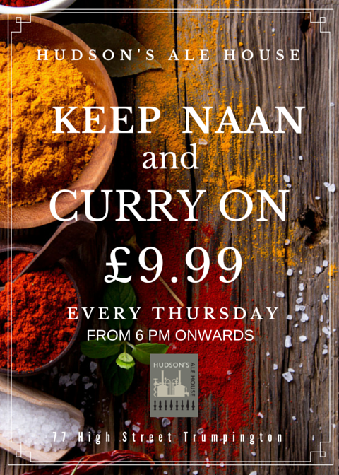 'KEEP NAAN AND CURRY ON'
