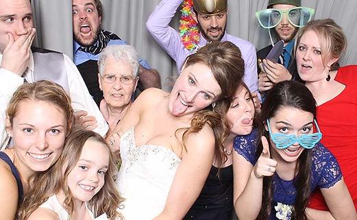 Kansas City Photo Booth wedding