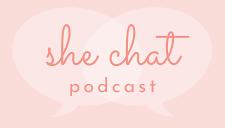 She Chat podcast logo