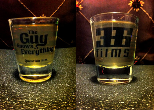 The Guy Knows Everything Shot Glass Set of 2