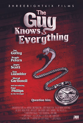 The Guy Knows Everything Poster