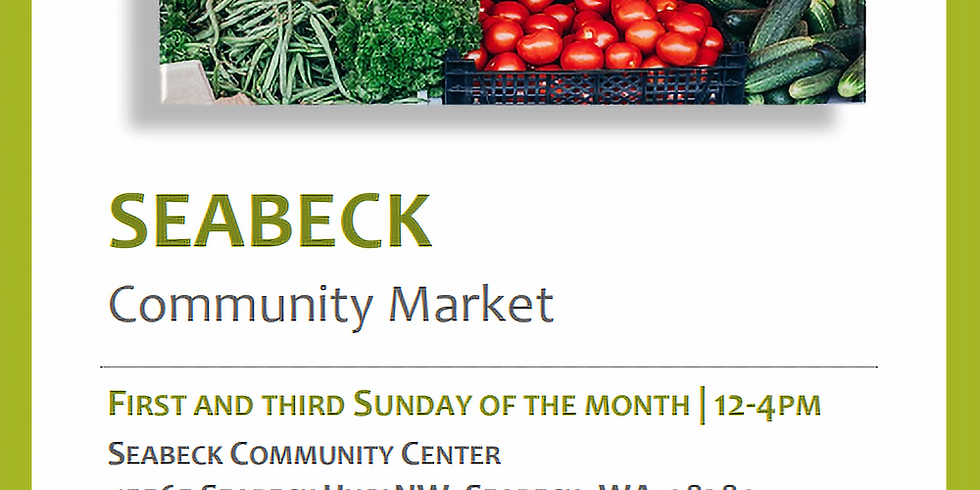 Seabeck Community Market