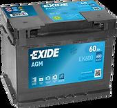 автомобільний акумулятор Exide AGM