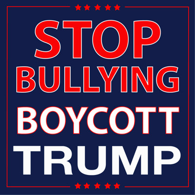Boycott Trump Products