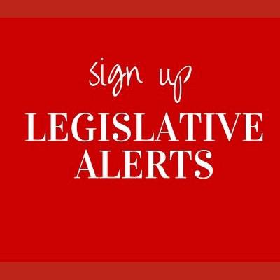 Legislative Alerts