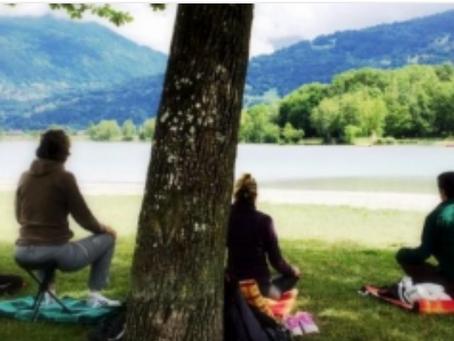 Un yoga ? plutôt une méditation avec des mouvements...