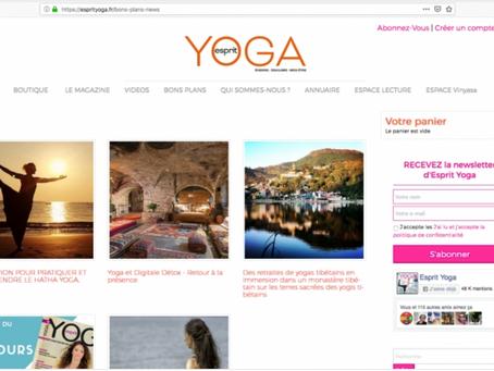 Retraites en Immersion dans un monastère tibétain dans les Bons Plans de Esprit Yoga Janvier 2019