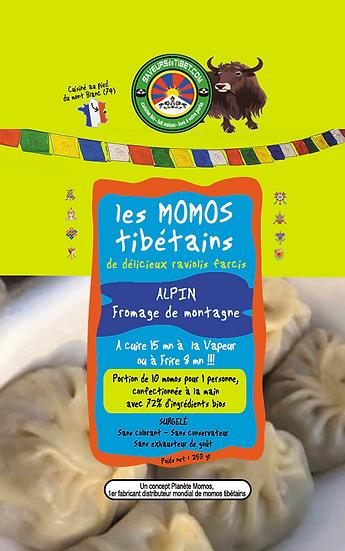 10 Momos Farce Alpine (fromage de montagne)