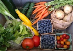 Strawberry Hill Farm August Box Example.