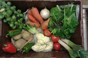 Strawberry Hill Farm October Box Example