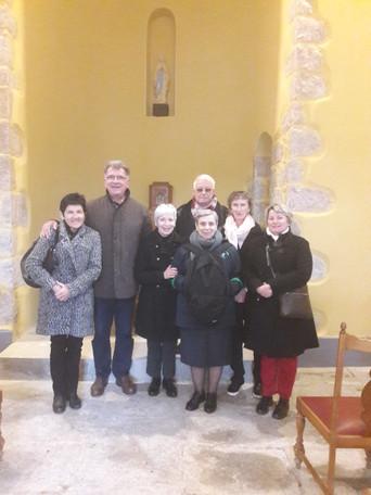 Visite de soeur Yolla dans la Paroisse Saint-Michel