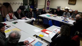 Paroisse Saint Michel en Rhône et Loire Compte rendu de notre réunion jumelage du 25/01/2017