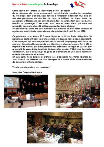 Diner annuel de la Paroisse Saint-Michel